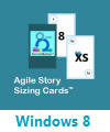 Agile Story Sizing Cards Windows 8