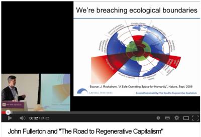 John Fullerton on Regenerative Capitalism