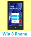 Easy Receipt Log Windows 8 Phone